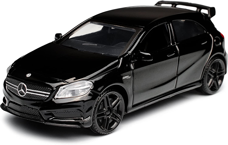 Mercedes-Benz A-Klasse W176 A 45 AMG 5 Türer Weiss Ab 2012 1//43 Motormax Modell