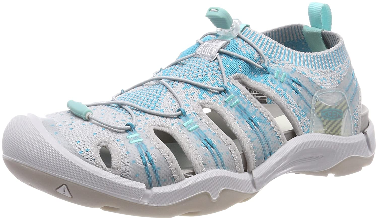 KEEN Women's EVOFIT ONE Water Sandal for Outdoor Adventures B06ZY6R6QL 7 M US|Paloma/Lake Blue