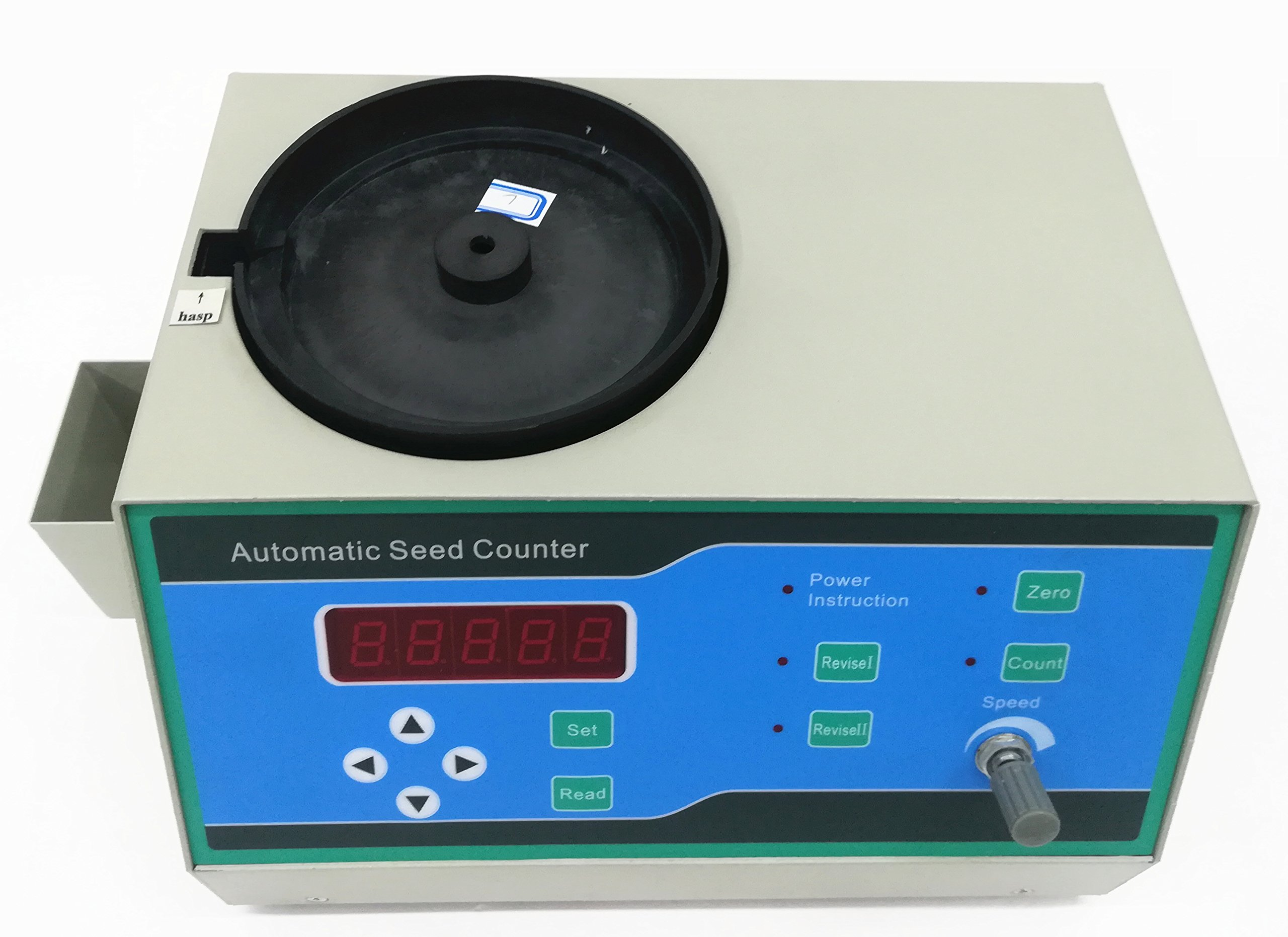 CGOLDENWALL Automatic Seeds Counter Machine for medium and Samall Shapes Seeds Special for small seeds as millet,rape seed,rice, wheat, seed, rape, vegetable, flower, tobacco by CGOLDENWALL (Image #1)