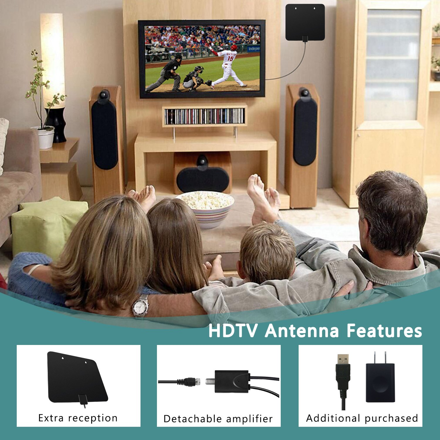 Introduction design amp styling interior performance ride amp handling mpg - Amazon Com Tv Antenna Indoor 60miles Amplified Vichannel 2017 Upgraded Digital Hdtv Antenna With Amplifier Channels Booster Free Tv Gain For 1080p Vhf