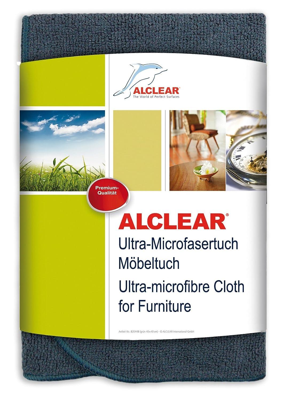 ALCLEAR a257343 m Ultra Chiffon en Microfibre Premium Meubles Chiffon, Anthracite 40 x 40 cm Anthracite 40x 40cm ALCLEAR International GmbH A257343M