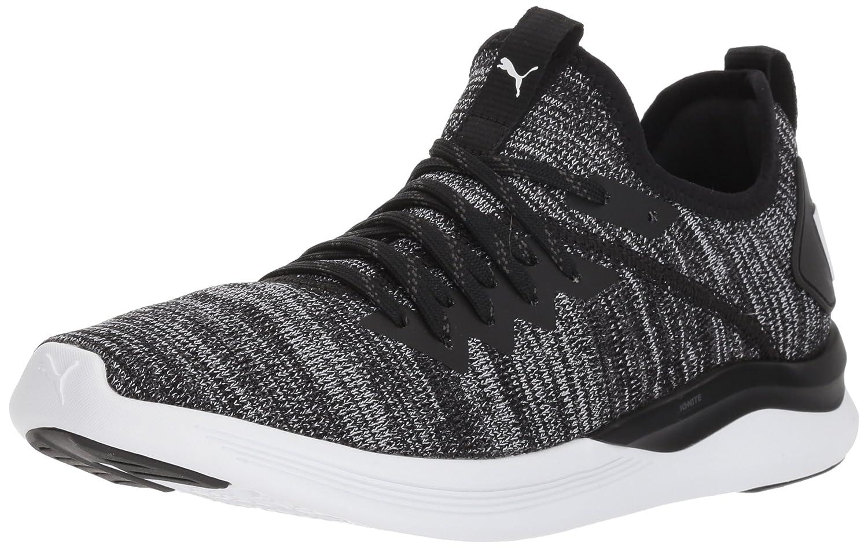 PUMA Women's Ignite Flash Evoknit Wn Sneaker B071GL9QKH 11 B(M) US|Puma Black-asphalt-puma White