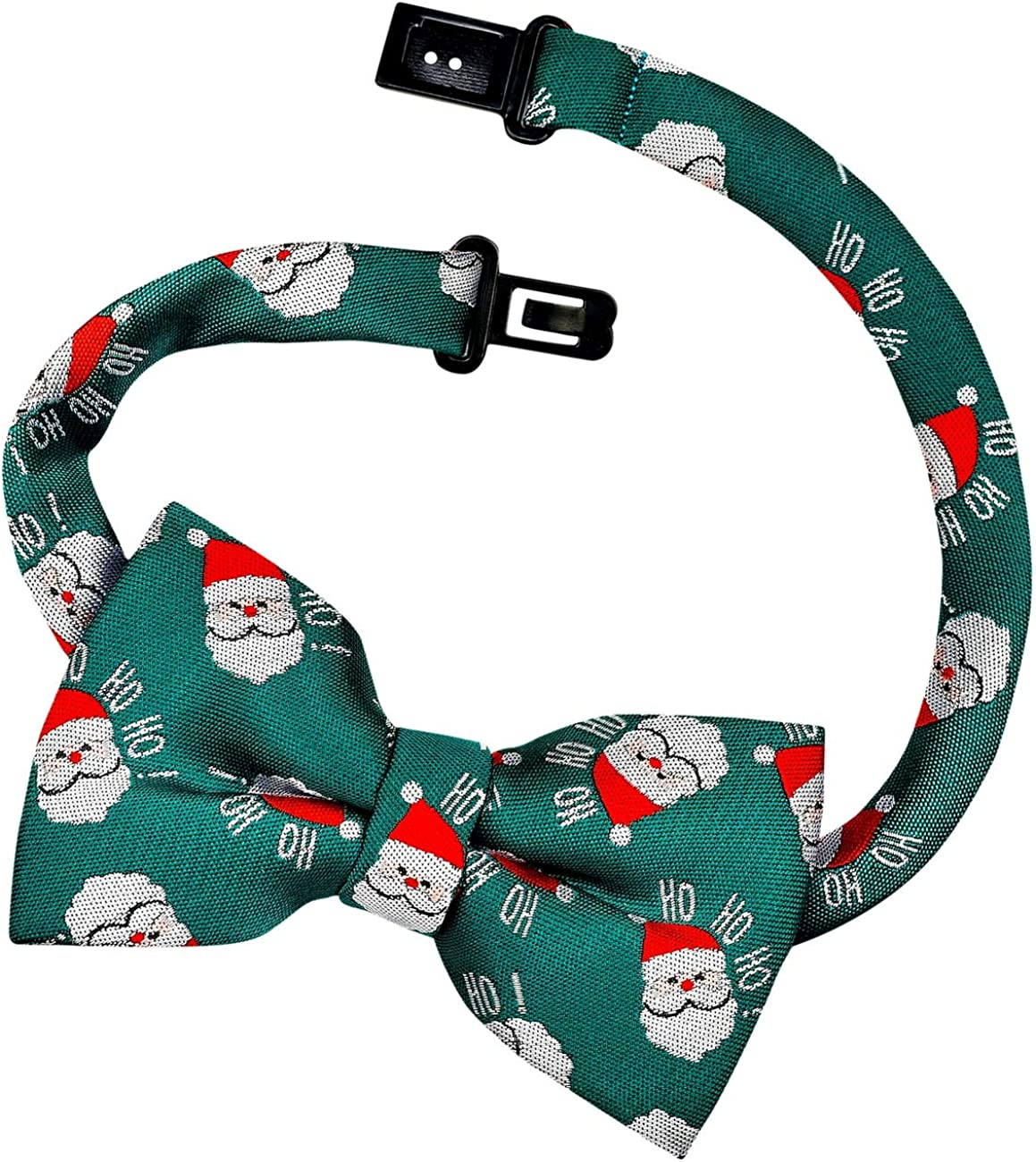 8-10 years Retreez Christmas Happy Santa Claus Ho Ho Ho Pattern Boys Tie