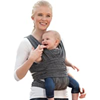 Boppy ComfyFit Hybrid Baby Carrier, Heathered Gray