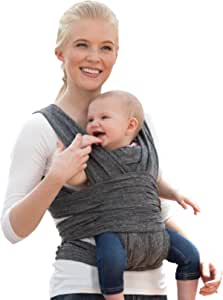 Boppy ComfyFit Baby Carrier, Heathered Gray