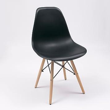 Homely Silla de Cocina/Comedor de diseño nórdico-Scandi, Inspiración ...