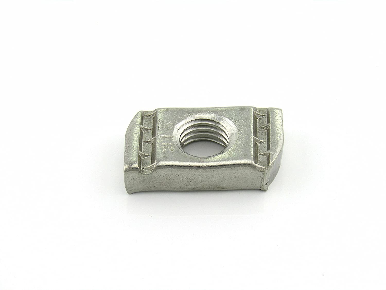 Short Spring Nut 1//4-20X1//4 Thick 100 per box