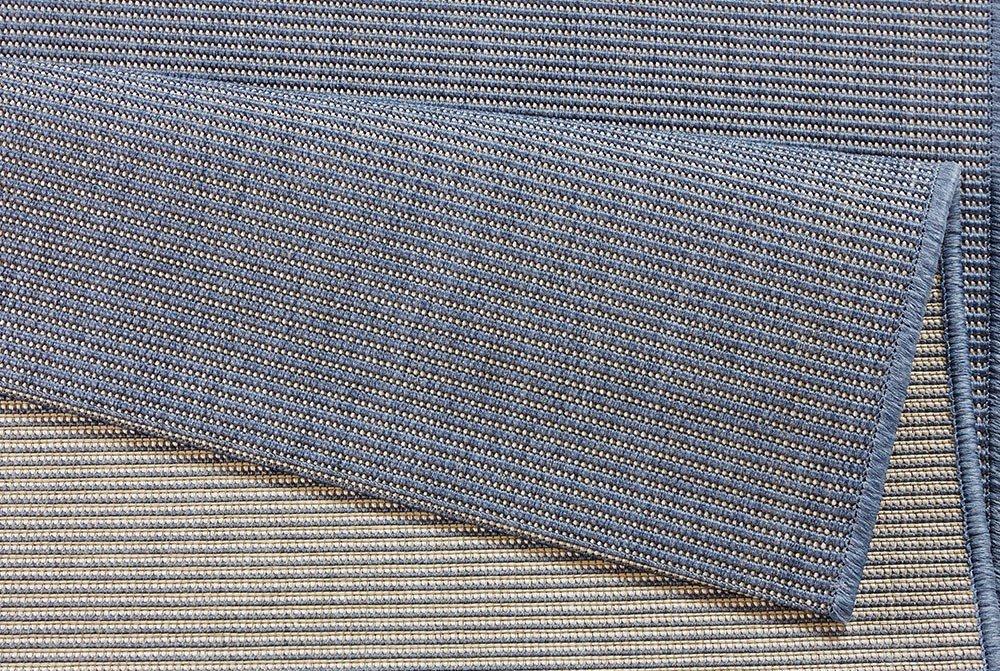 Bougari Match In-und Outdoorteppich, Polypropylen, Polypropylen, Polypropylen, Blau, 290.0 x 200.0 x 0,8 cm 7a0272