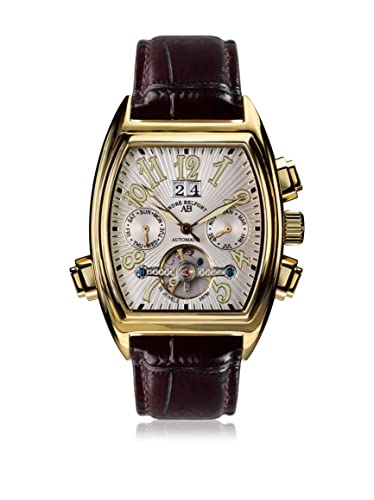 André Belfort Reloj automático Man Royale Date Gold Weiß 38 mm: Amazon.es: Relojes