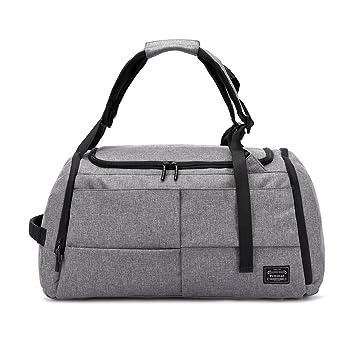 valleycomfy bolsa de deporte gimnasio bolsas zapatos de gran capacidad con bolsillo mano/hombro/cross-body bolsa Fitness equipaje bolsas