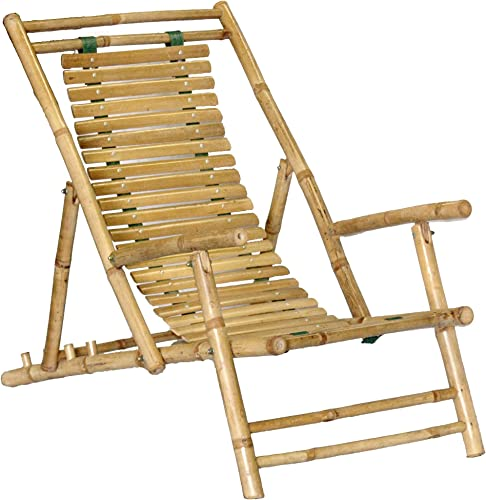 Bamboo Recliner Chair Set of 2