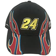 c8f7c75cade Jeff Gordon  24 Flames Mens Adjustable Hat