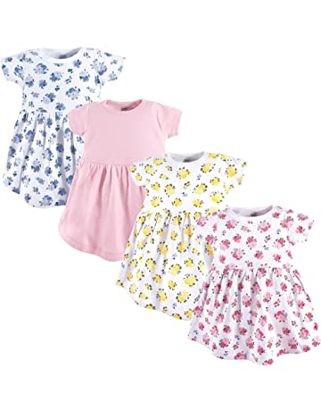 16fc53aeb502 Luvable Friends Baby Girls  Cotton Dress
