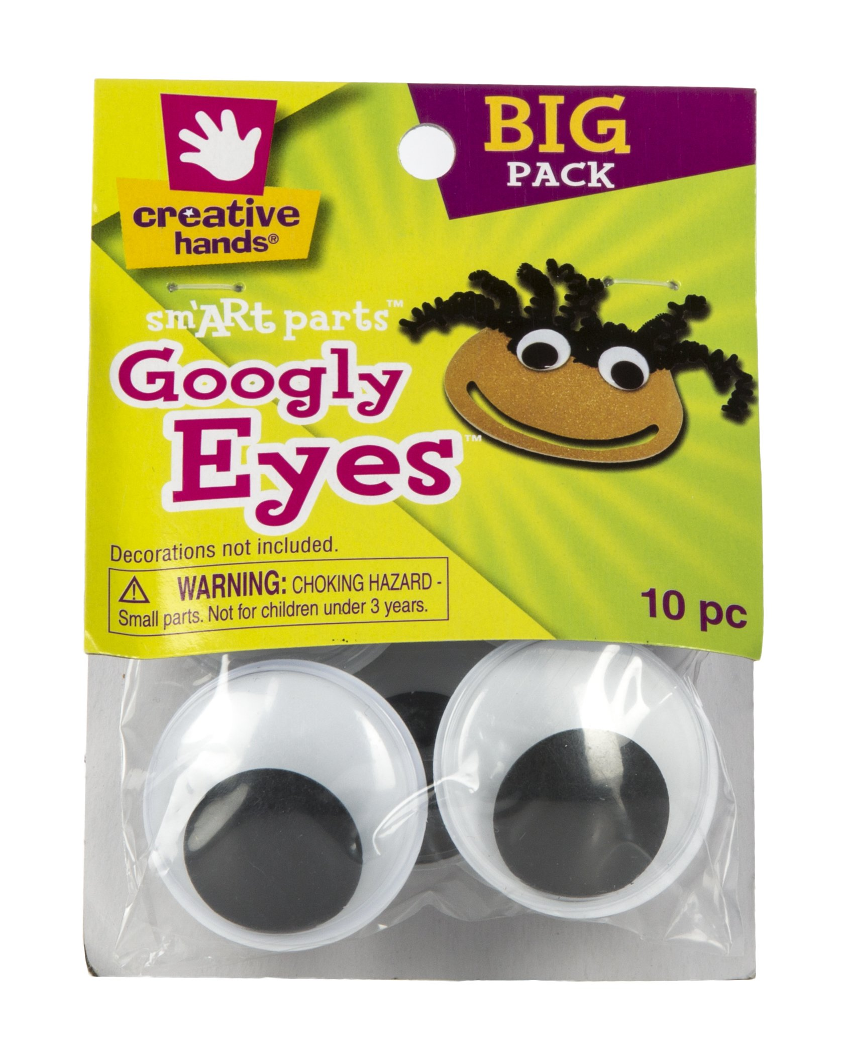 Creative Hands Googly Eyes, 40mm
