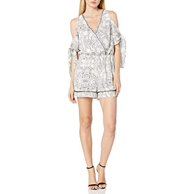 Adelyn Rae Women's Lana Romper: Clothing