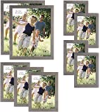 MCS 9 Piece Gallery Wood Frame Set, Greywood