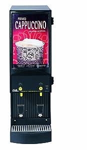 Wilbur Curtis Café Primo Cappuccino System 2 Station Cappuccino (4 Lb Hoppers) - Commercial Cappuccino Machine - CAFEPC2CS10000 (Each)