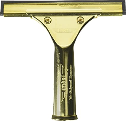 Ettore 1253 Brass End Clips for All Ettore Window Squeegees Pack of 12