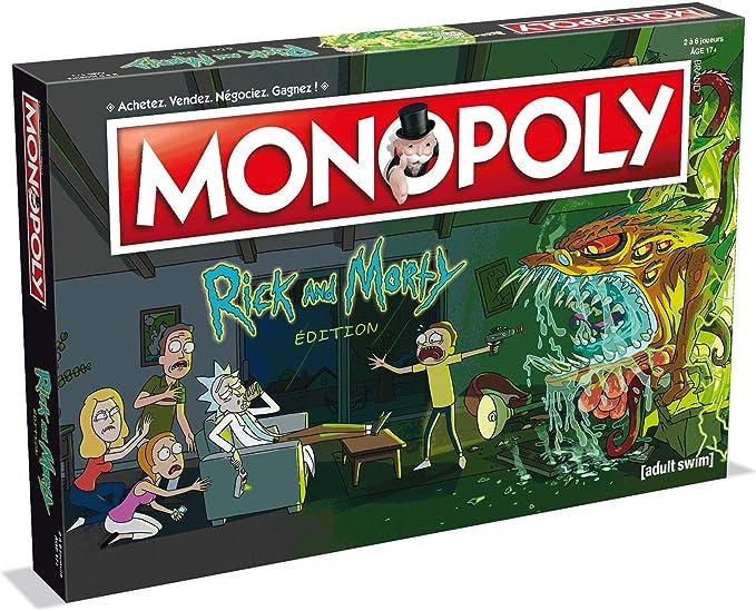 Winning Moves – Monopoly Rick y Morty, 0262, Version Francesa: Amazon.es: Juguetes y juegos