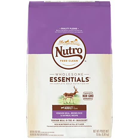 NUTRO Natural Choice Venison Meal & Whole Brown Rice Recipe Adult ...