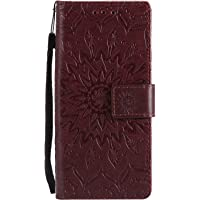 SibyTech For Samsung Galaxy S9 Wallet Case Premium Mandala Design PU Leather TPU Shockproof, Card Slots Magnetic Closure Stand Function Folio Flip Book Case Cover for S9 (2018)