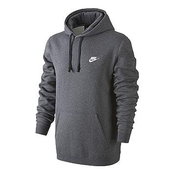 07d554db1b2 Nike M NSW Hoodie PO FLC Club Sweat à Capuche pour Homme XS Multicolore -  Gris