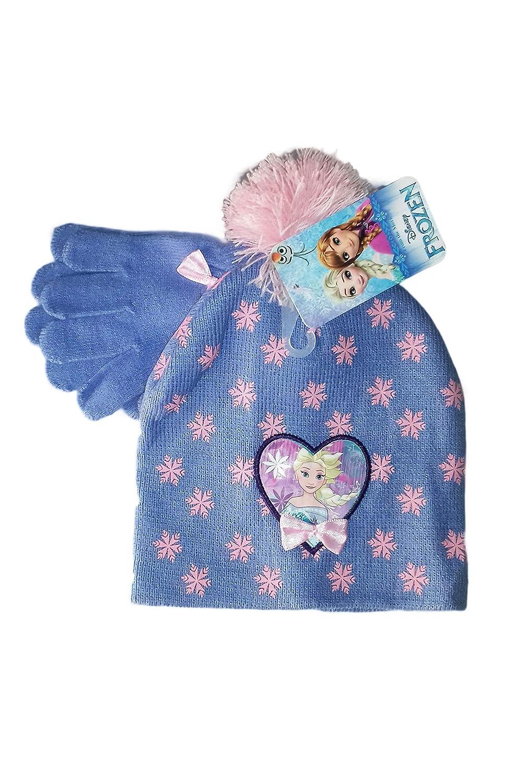 Disney Set 2pz cappello guanti bambina frozen