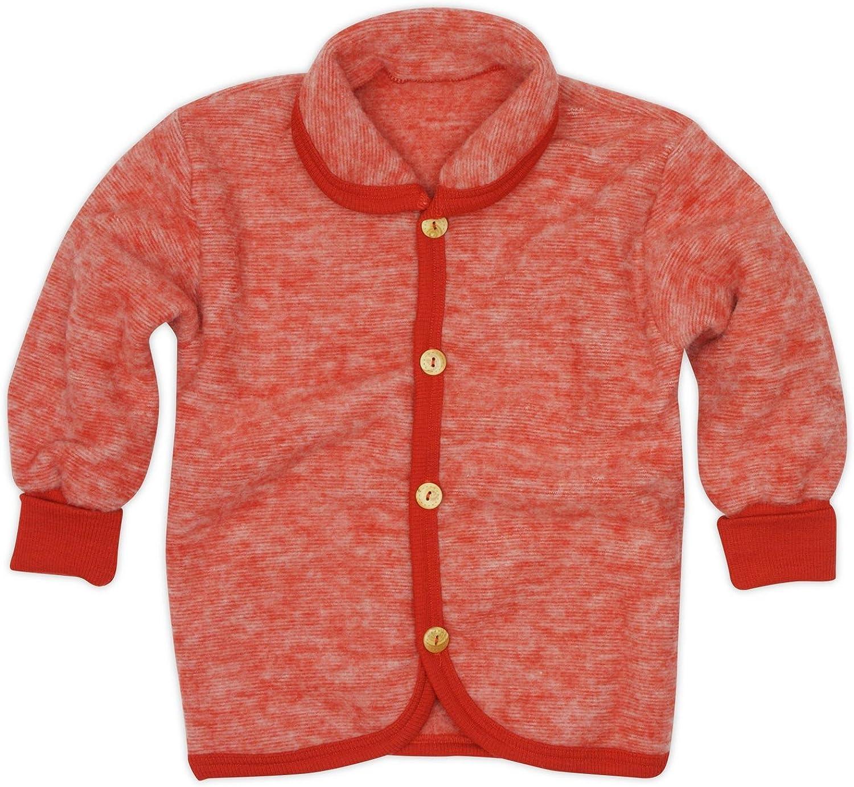 Cosilana Pantalon b/éb/é avec ceinture en polaire douce 100 /% laine vierge