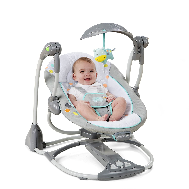 Amazon Ingenuity Convertme Swing 2 seat Convertible Swing