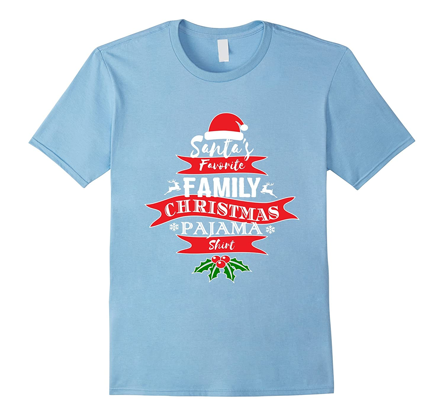 Funny Christmas Pajama for Family Short Sleeve Xmas Shirt-RT ... 187dc8c76