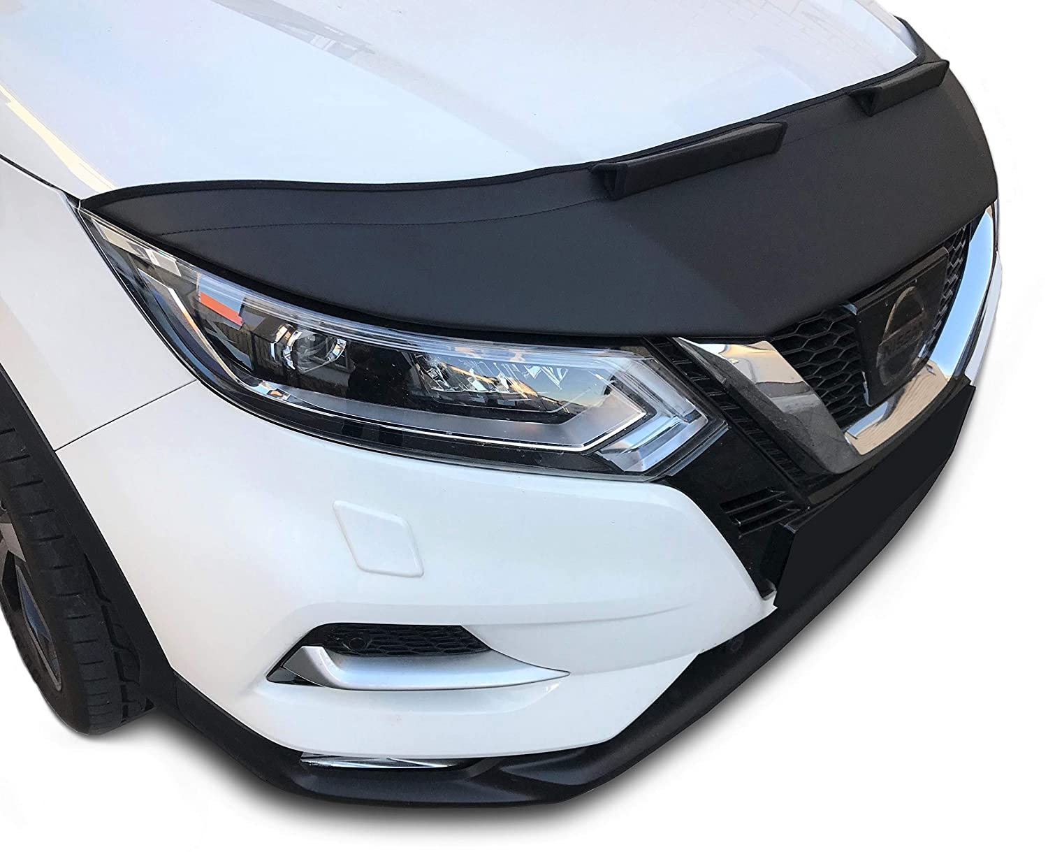Hood Bra for Nissan Qashqai Bonnet Car Front End Cover Nose Mask Stoneguard Protector TUNING