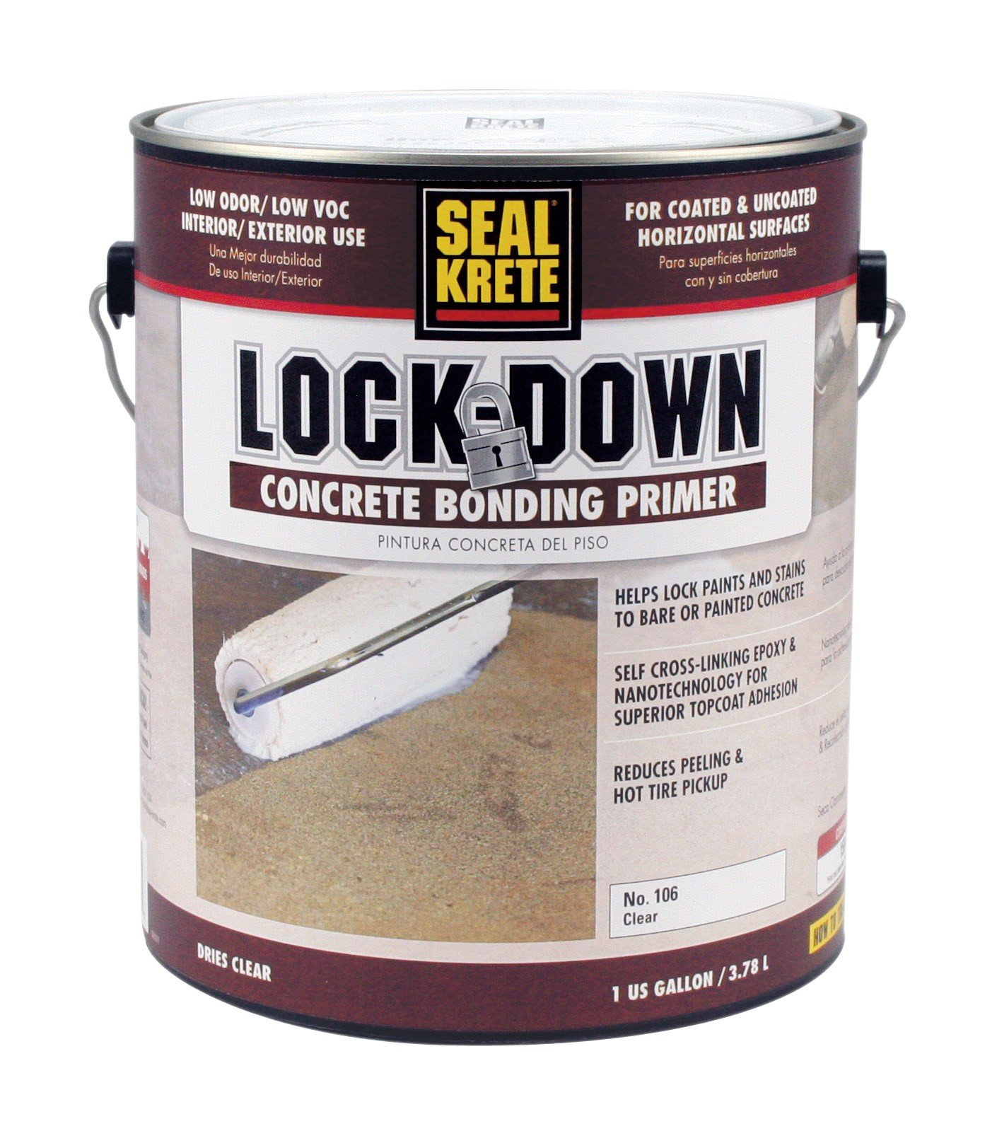 Lock-down Epoxy Bonding Floor Primer 1-Gallon