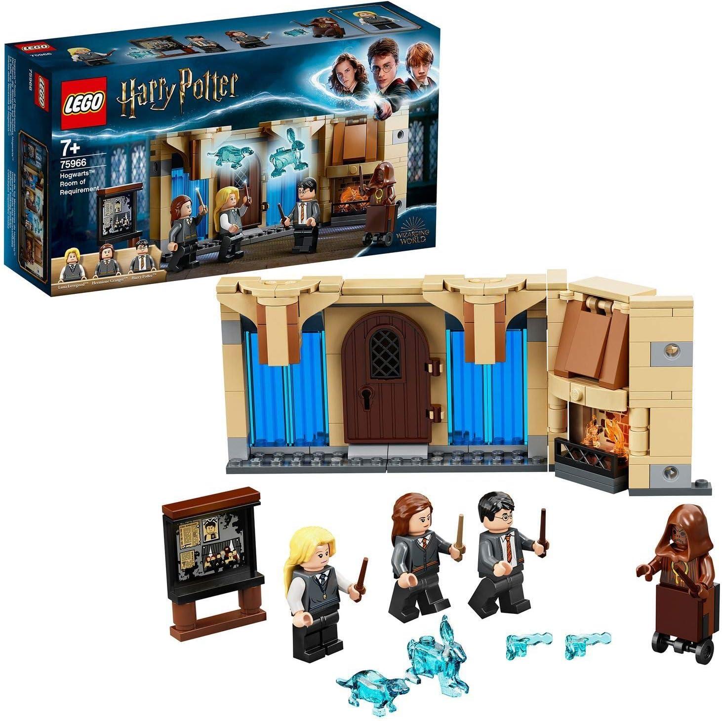 LEGO HarryPotterSala de los Menesteres de Hogwarts, Multicolor (75966)