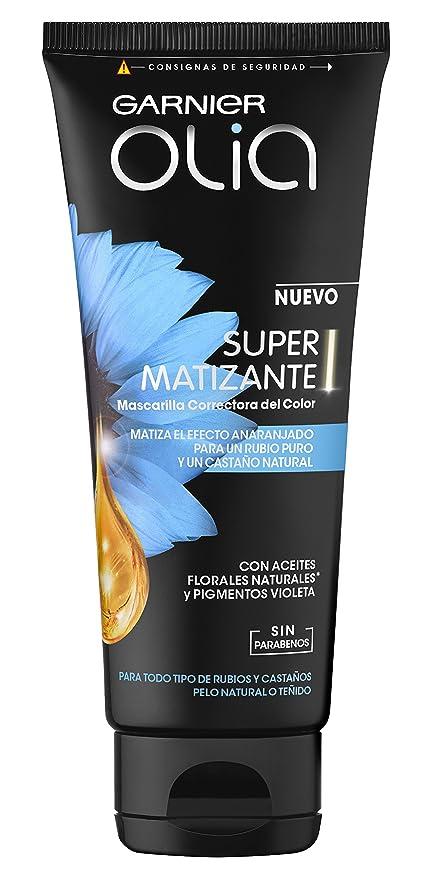 Garnier Olia Coloración Super Matizante con Aceites Florales y Pigmentos Violeta - 150 ml