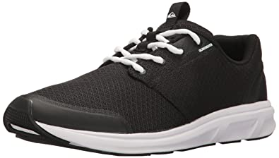 7a091677 Quiksilver Men's Voyage Running Shoe Athletic Water Black/White, ...