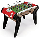 Smoby - 620302 - Babyfoot N°1 Evolution - Structure Bois - 2 Balles Incluses