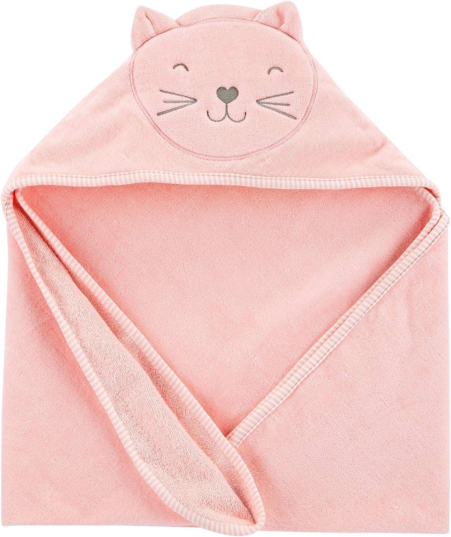 Carter's Baby Hooded Towel (Pink)