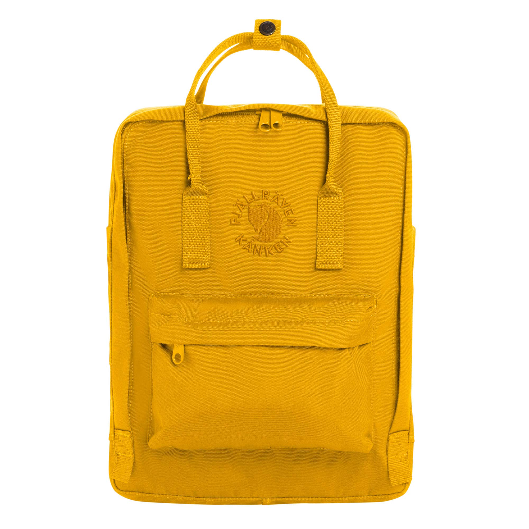 Fjallraven - Re-Kanken Recycled and Recyclable Kanken Backpack for Everyday, Sunflower Yellow by Fjallraven