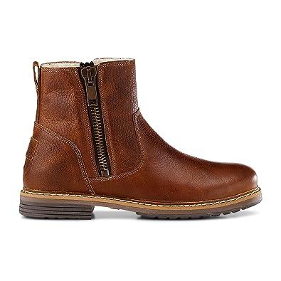 fed62eff1a4f94 Cox Damen Damen Winter-Boots aus Leder