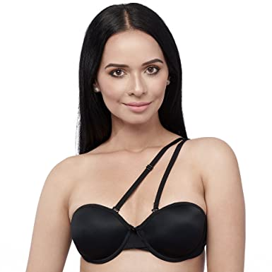 4e81f6bfb2 VersaBra Convertible Multiway Strapless Bra (32A - 42DD) at Amazon ...
