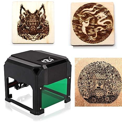 máquina de grabado láser 3000Mw Grabador Láser Portátil Impresora mini DIY Laser Engraver maquina laser,