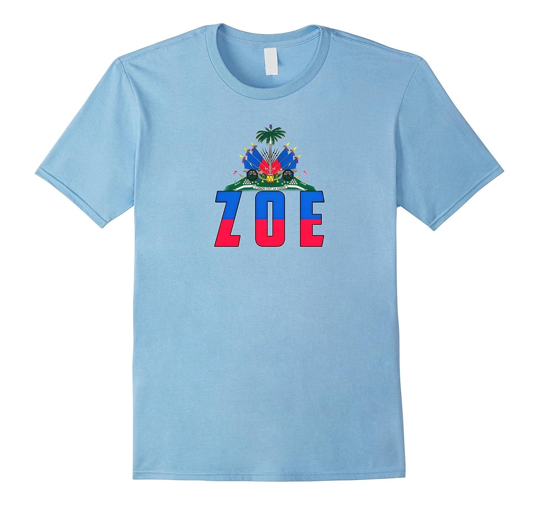 ZOE Haitian Shirt - Haiti Pride Tee-RT