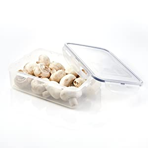 LOCK & LOCK Airtight Rectangular Food Storage Container 54.10-oz / 6.76-cup
