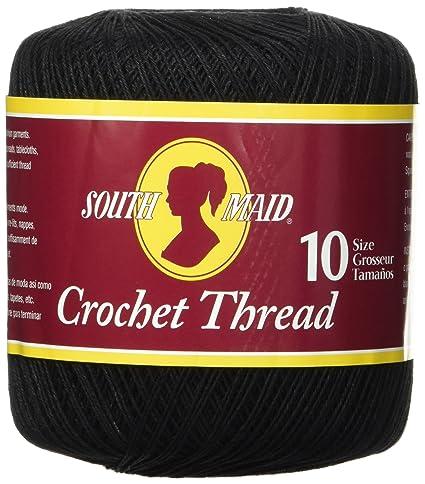 Amazoncom Coats Crochet South Maid Crochet Cotton Thread Size 10