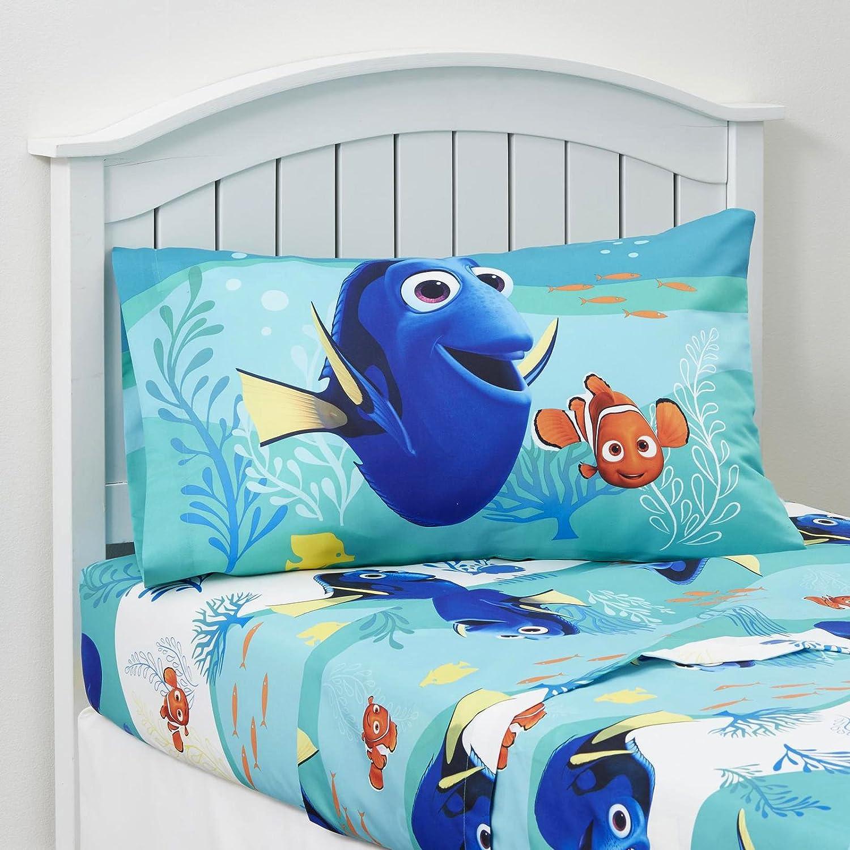 Amazon.com: Kids Bedding Set 3 Piece Finding Dory Nemo Bed Sheet Set Twin  Size Children Bedroom: Home U0026 Kitchen