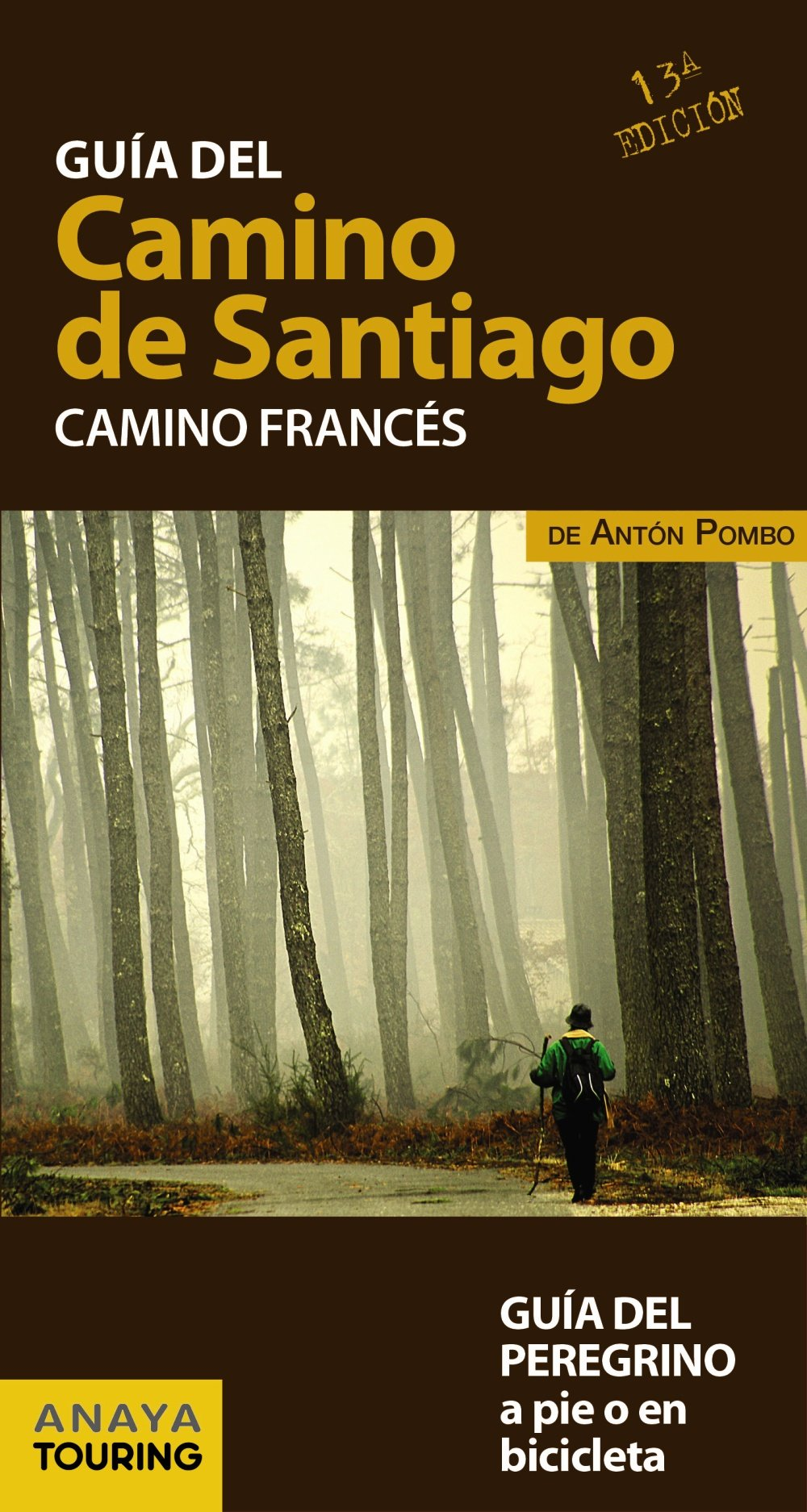 Guía del Camino de Santiago. Camino Francés: Amazon.es: Anaya Touring, Pombo Rodríguez, Antón: Libros