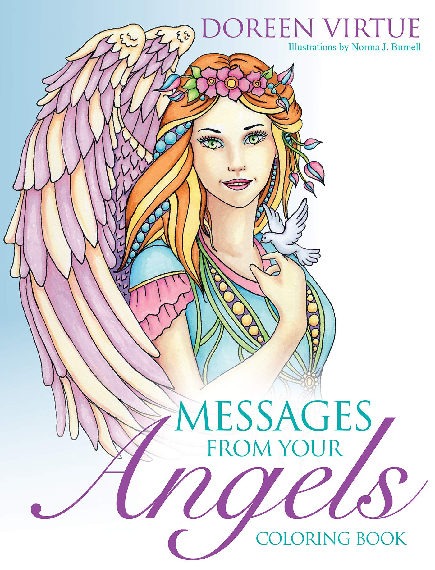 Amazon.com: Messages from Your Angels Coloring Book (9781401952037 ...