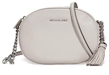 9d029ae4ab81 Amazon.com | MICHAEL Michael Kors Ginny Medium Messenger Bag, Cement ...