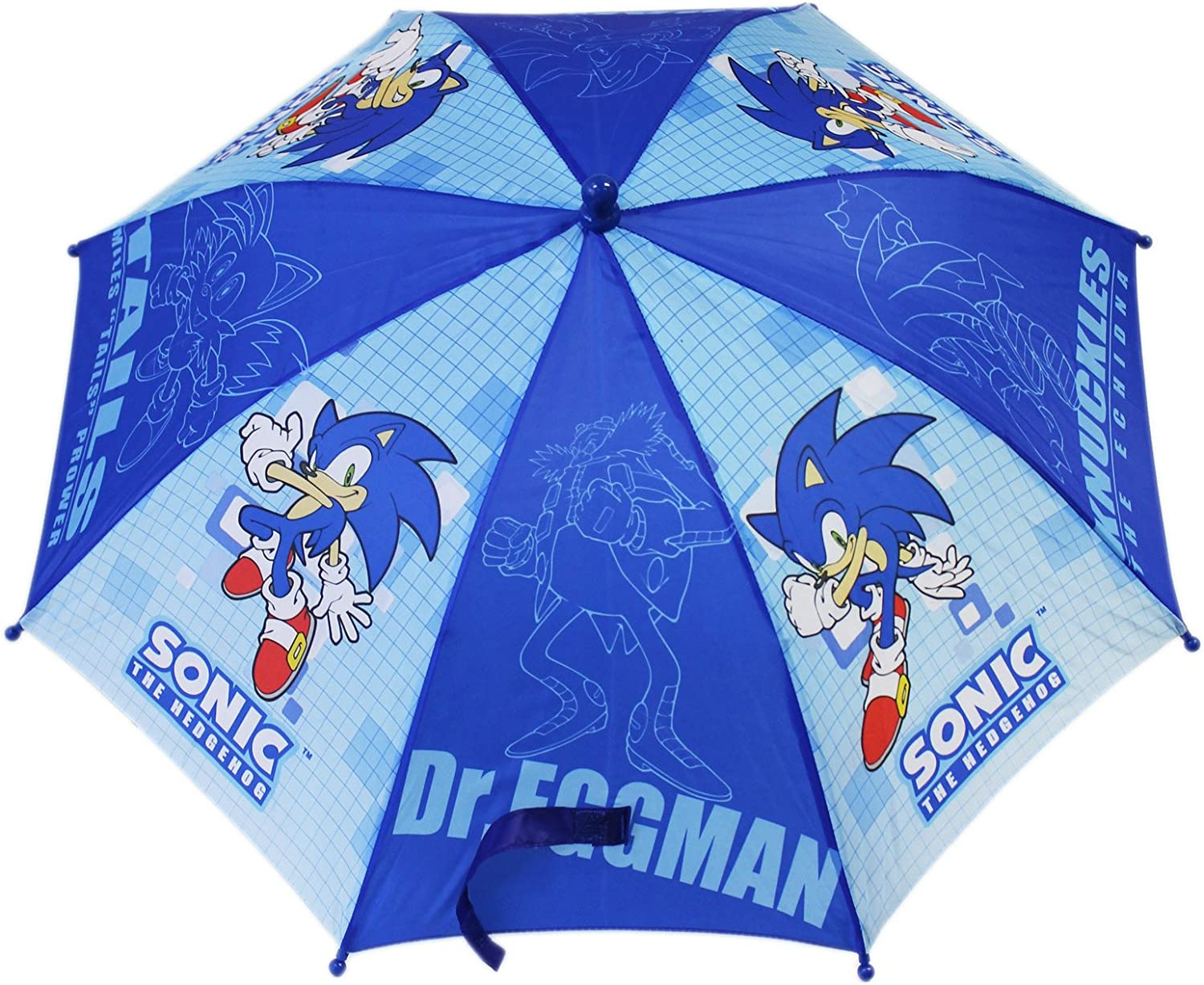 Umbrella Sonic The Hodgehog Tail Knuckles Shadow Dr Eggman New Kids Amazon Ca Sports Outdoors