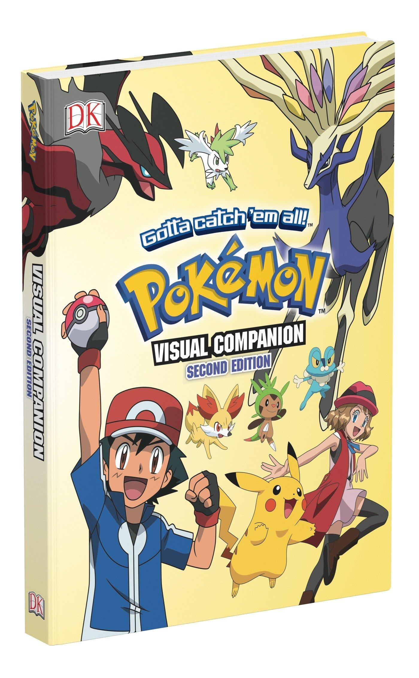 Pokémon Visual Companion, Second Edition Hardcover – November 15, 2016 BradyGames DK 0744017602 Pokaemon (Game)